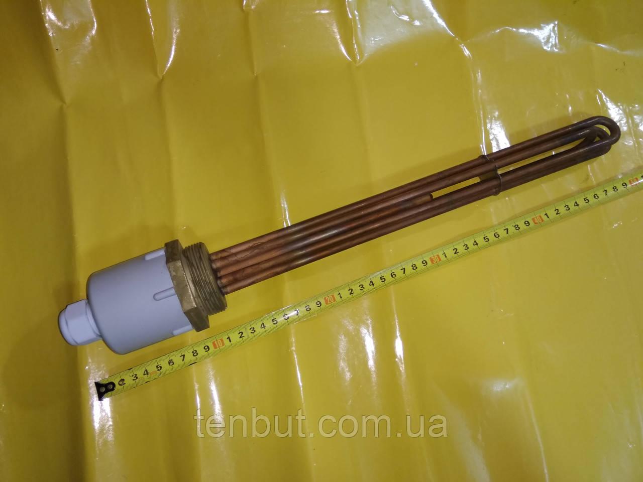 """Блок ТЭН медный 9.0 кВт./2.0"""" дюйма / 380 В./ L-400 мм. производитель KAWAI"""