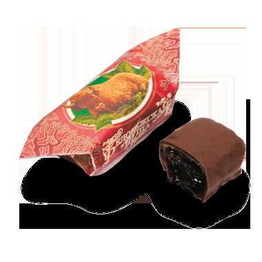 Конфеты с ликерными и желейными начинками