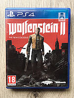 Wolfenstein 2 The New Colossus (рус.) (б/у) PS4, фото 1