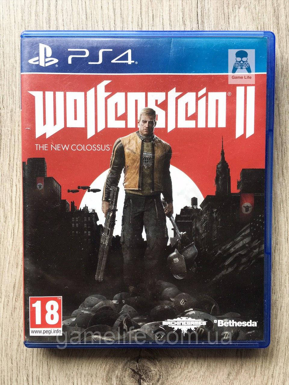 Wolfenstein 2 The New Colossus (рус.) (б/у) PS4