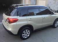 Дефлекторы окон, ветровики Suzuki Vitara 5d 2015, фото 1