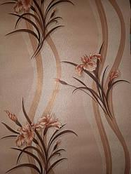 Шпалери паперові прості Ексклюзив 059-03 орхідея рожева 0,53*10 м