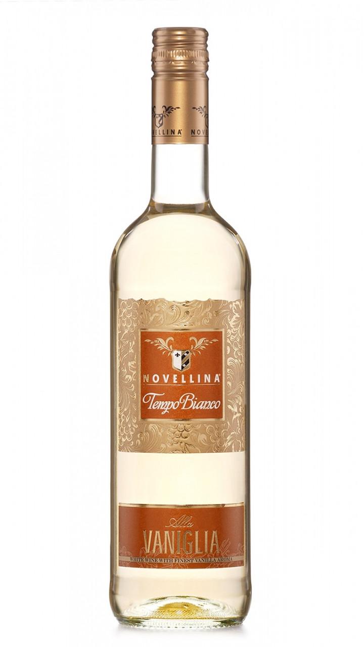 Вино ВАНІЛЬНЕ напівсолодке біле Novellina Tempo Bianco Vaniglia 0,75L.