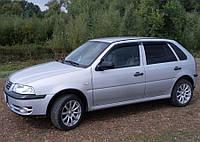 Дефлекторы окон, ветровики Volkswagen Pointer Hb 5d 2003/Parati 1999-2005