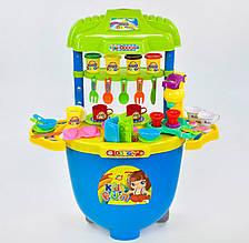 Детский игровой набор Тесто для лепки 008-99 стележкойна колесах иаксессуарами