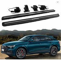 Бічні пороги електричні Audi Q8 2019+ р. в.