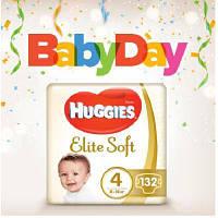 Подгузник Huggies Elite Soft 4 (8-14 кг) 132 шт (5029054566220)