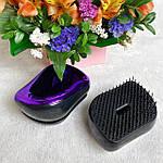 Компактная расческа для волос с крышкой, фото 5