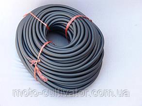 Бензошланг чёрный резиновый 6mm длина 5м