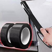 Виниловая лента из углеродного волокна ( защита кромки, стайлинг ) / 7см х 3м