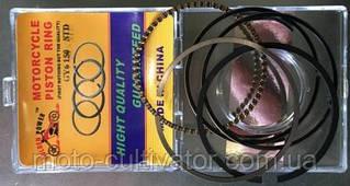 Кольца поршневые GY6-150 std (качество)