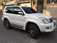 Дефлектора окон, ветровики Toyota Land Cruiser Prado 120 3d 2003-2008, фото 1