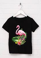 Стильная женская футболка Фламинго