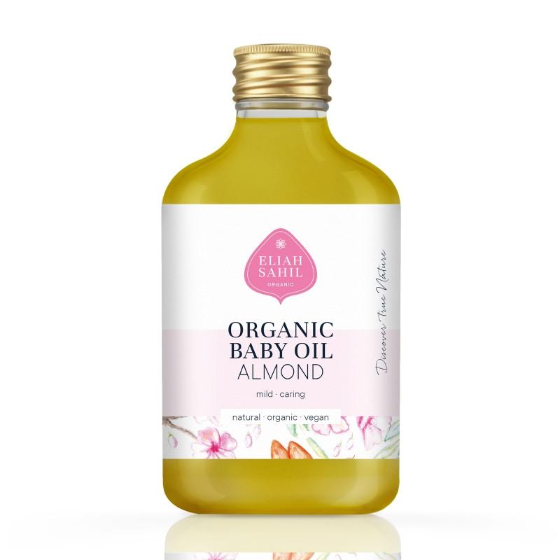 """Масло для тіла і волосся дитяче органічне """"Мигдаль"""" 100 мл Eliah Sahil"""