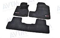 Коврики в салон ворсовые для Honda CR-V (2006-2011) /Чёрные Premium BLCLX1206, фото 1