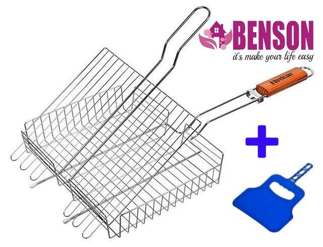Универсальная решетка-гриль для пикника BBQ Benson BN- 902