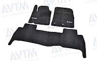 Коврики в салон ворсовые для Lexus LХ570 (2007-2012) /Чёрные Premium BLCLX1304, фото 1