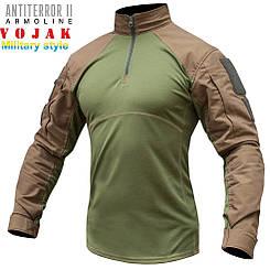 Рубашка UBACS тактическая ANTITERROR II Хаки