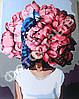 Картина по номерам Красные пионы Эми Джадд +Лак 40*50см Барви Девушка с пионами, фото 5