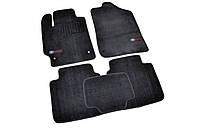 Коврики в салон ворсовые для Toyota Camry (2006-2011) /Чёрн, Premium BLCLX1612, фото 1