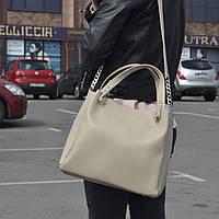 """Стильная женская повседневная сумка """"Аманда 1 Beige"""", фото 1"""