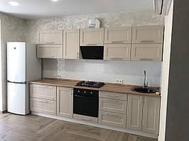 Кухня Т-3 с рамочным фасадом