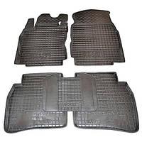 Коврики в салон для Nissan Note (E11,E12) 2005- черный, кт - 4шт 11260 Avto-Gumm