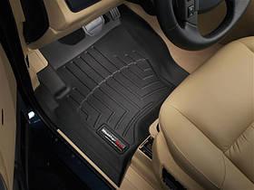 Килими гумові WeatherTech Range Rover Discovery 2004-2009 передні чорні ( без гачків )