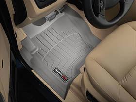 Килими гумові WeatherTech Range Rover Discovery 2004-2009 передні сірі ( без гачків )