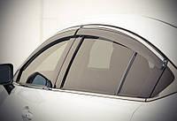 Дефлекторы окон, ветровики Mazda 6 2013- С Хром Молдингом, фото 1