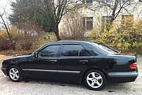 Дефлекторы окон, ветровики Mercedes Benz E-klasse Sd (W210) 1995-2002, фото 1