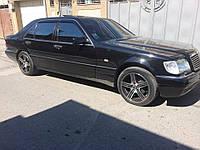 Дефлекторы окон, ветровики Mercedes Benz S(SL)-klasse (W140) Long Sd 1990-1998, фото 1
