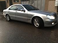 Дефлекторы окон, ветровики Mercedes Benz S-klasse (W220) 1998-2005, фото 1