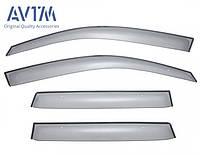 Дефлекторы окон, ветровики Mitsubishi Outlander XL 2007-2014, кт. 4шт (MZ562880EX), фото 1