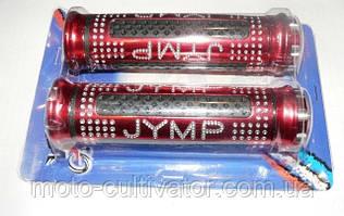 Ручки руля JYMP (пара) красные