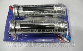 Ручки руля JYMP (пара) серебро