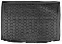 Коврик в багажник для Nissan Juke (2015>) (нижняя полка)  код 211510  Avto-Gumm
