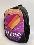 Рюкзак молодежный городской Likee, фото 2