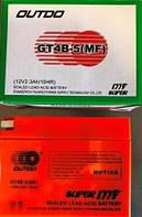 Аккамулятор  YT4B-5(MF) узкая таблетка (оранж) 12V 2,3Ah/10HR (110x85x38) OUTDO