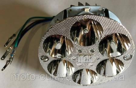 Вставка в фару LED мини круглая DELTA/АЛЬФА