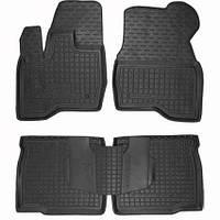 Коврики в салон для Ford Explorer 2014- черный, кт - 4шт 11454 Avto-Gumm