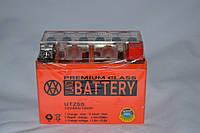 Аккумулятор 12V 4Ah гелевый (113х70х87) UTZ5S ( оранжевый ) BATTERY