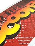 Двоколісний Самокат Складаний Великі Колеса SCOOTER чорний від 5 років SCALE SPORTS, фото 2