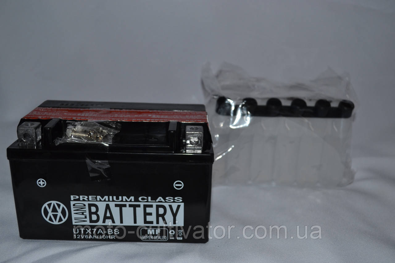 Аккумулятор 12V 6Ah кислотный (113х70х132) UTX7A-BS BATTERY
