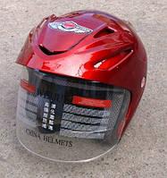 Шлем AD-168 Красный без бороды