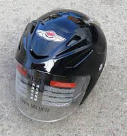 Шлем AD-168 чёрный без бороды