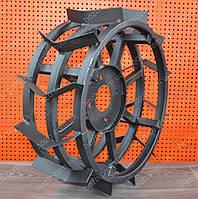Грунтозацепы для мотоблока (железные колеса) Ø 450 (усиленные).
