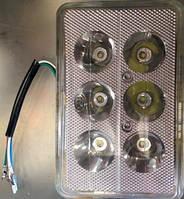 Фара LED(вставка в фару) ИЖ, МТ квадратная 6 диод