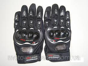 Мотоперчатки ProBiker черные летние