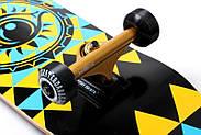 """Скейтборд деревянный Fish """"Tri"""" оригинал, матовый алюминиевый подвес, фото 3"""